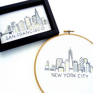City Skyline Patterns