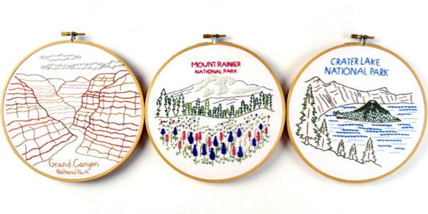 National Park Patterns