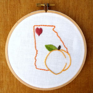 Florida State Embroidery Pattern
