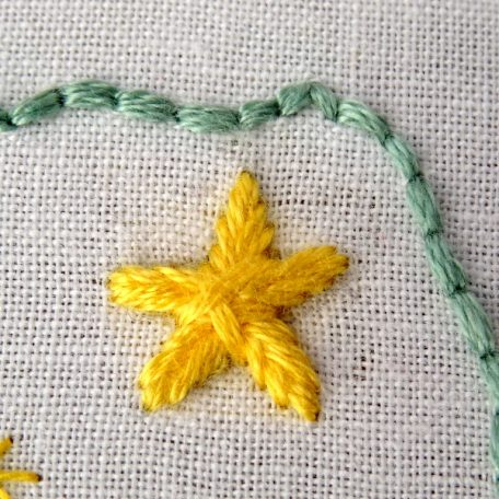 Alaska State Embroidery Pattern