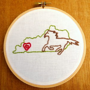 Kansas State Embroidery Pattern