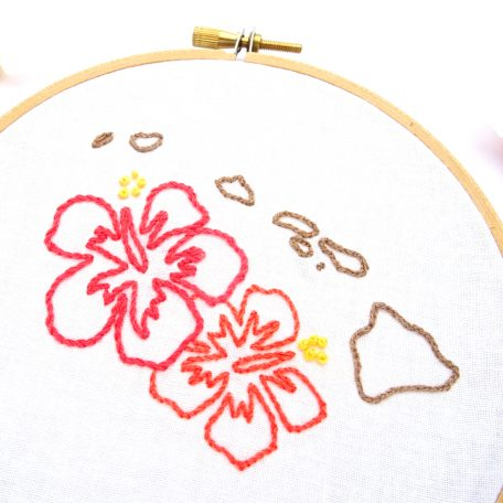 hawaii-hand-embroidery-pattern