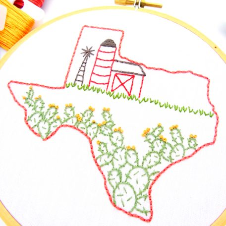 texas-hand-embroidery-pattern