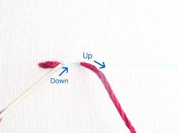 Basic Embroidery Stitches Tutorial