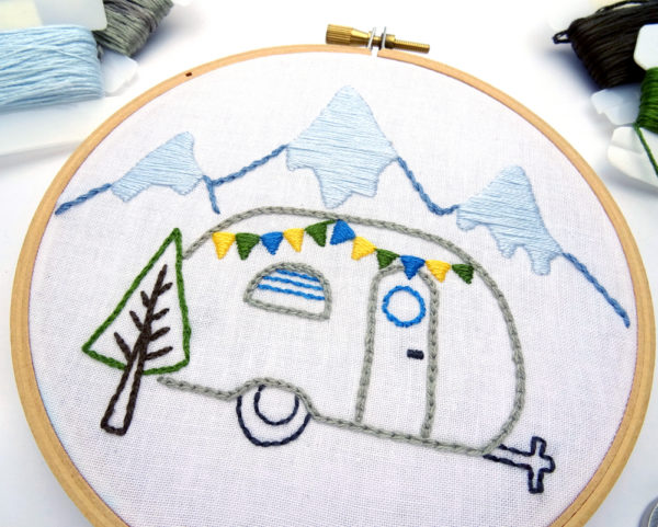 Satin Stitch Embroidery Tutorial