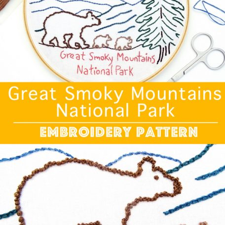 great-smoky-mountains-national-park-hand-embroidery-pattern