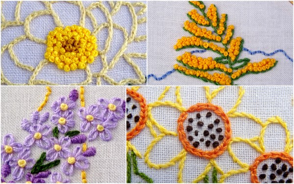 French Knot Embroidery Tutorial Wandering Threads Embroidery