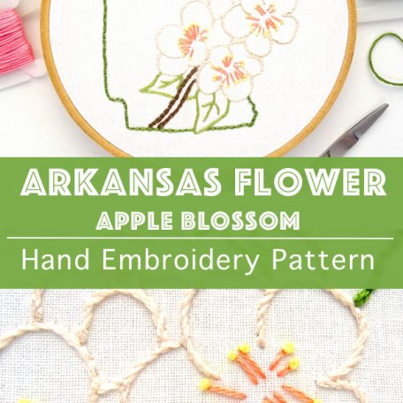 arkansas-state-flower-hand-embroidery-pattern-apple-blossom