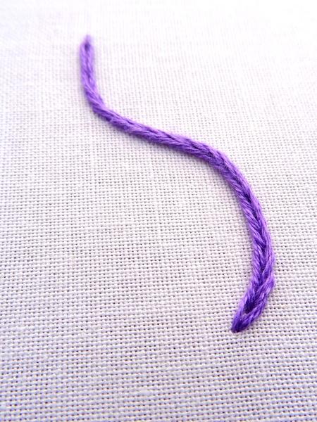 Heavy Chain Stitch Embroidery Tutorial