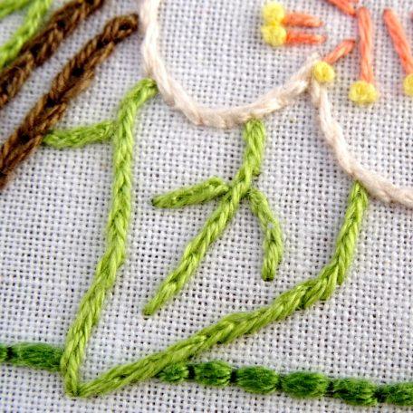 Arkansas State Flower Embroidery Pattern {Apple Blossom}