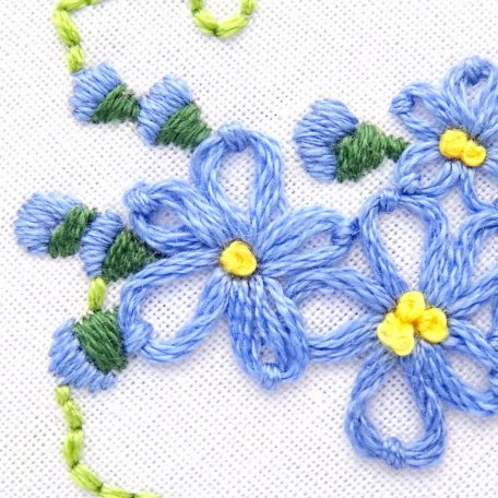alaska-state-flower-hand-embroidery-pattern-forget-me-not