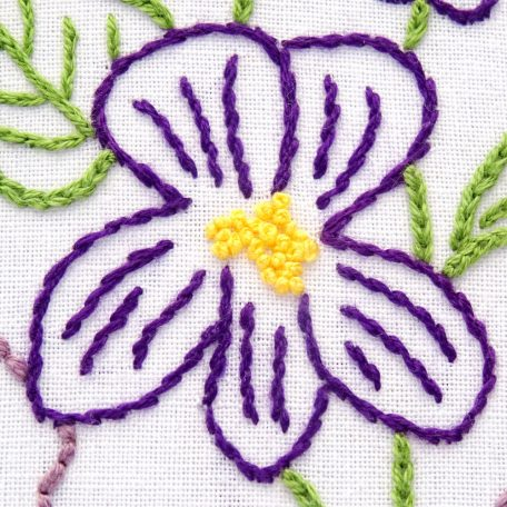 illinois-state-flower-hand-embroidery-pattern-violet