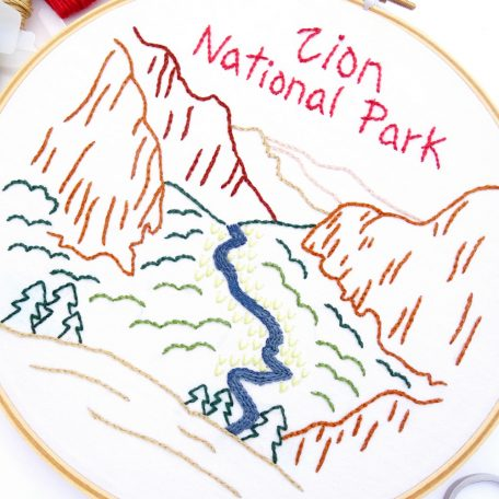zion-national-park-hand-embroidery-pattern