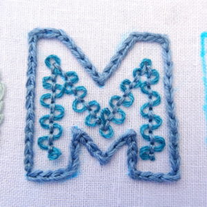 Embroidery Letters