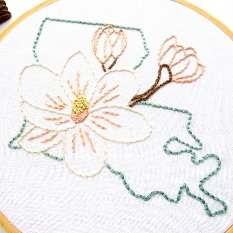 louisiana-state-flower-hand-embroidery-pattern-magnolia
