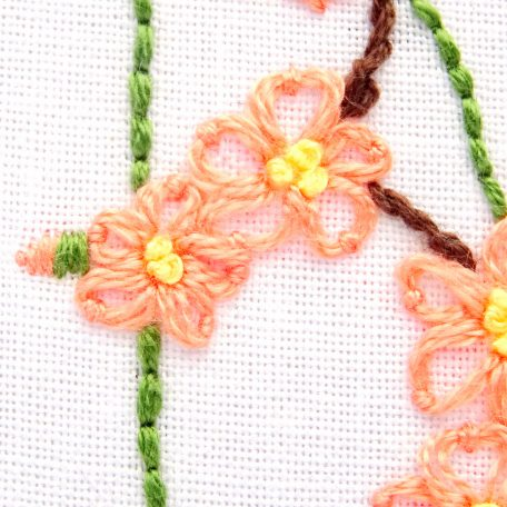 delaware-state-flower-hand-embroidery-pattern-peach-blossom