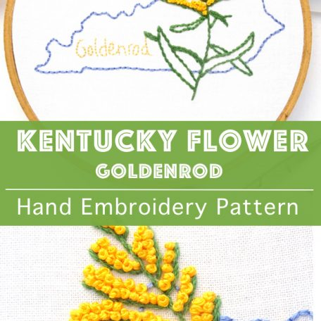 kentucky-state-flower-hand-embroidery-pattern-goldenrod
