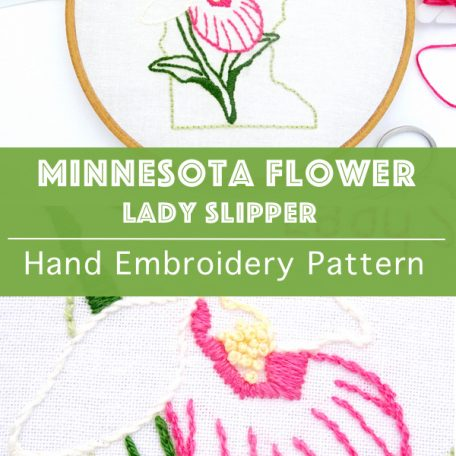 minnesota-flower-embroidery-pattern-lady-slipper