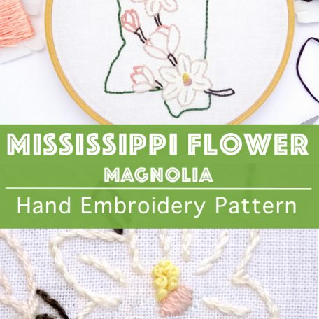 mississippi-flower-hand-embroidery-pattern-magnolia