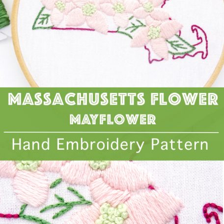 massachusetts-flower-hand-embroidery-pattern-mayflower