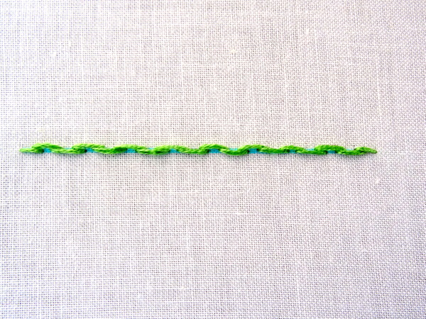Alternate Stem Stitch Embroidery Tutorial