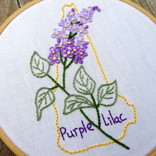State Flowers Embroidery Patterns Flowers Healthy