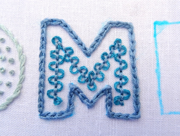 Whipped And Woven Embroidery Stitches Tutorial Wandering Threads
