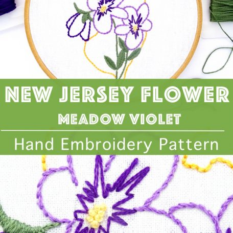 new-jersey-flower-hand-embroidery-pattern-meadow-violet