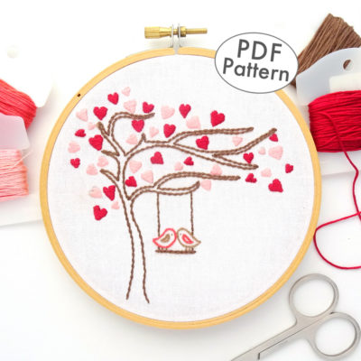 Season Tree Patterns Archives Wandering Threads Embroidery