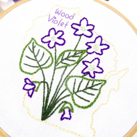 wisconsin-flower-hand-embroidery-pattern-wood-violet