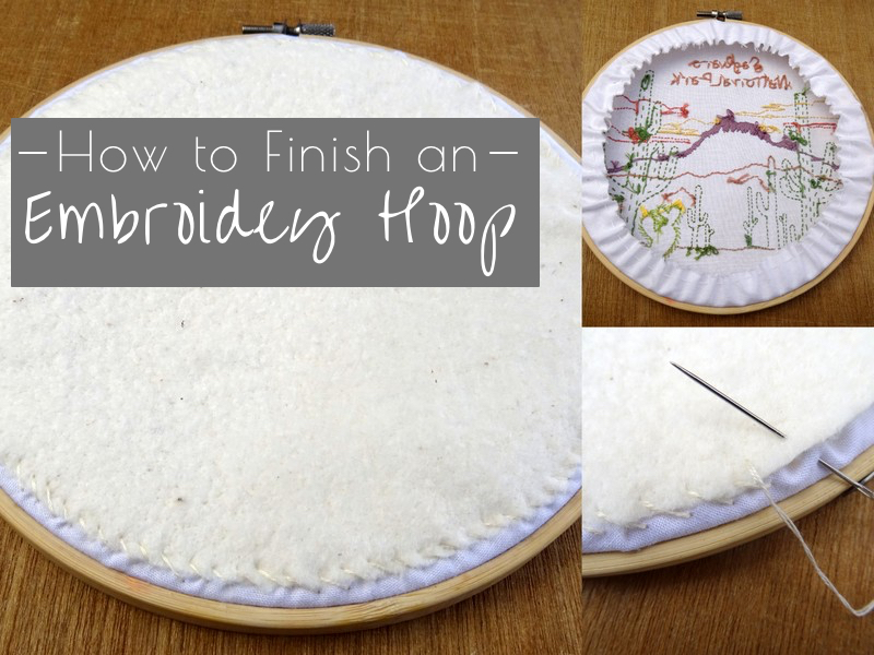 How to Frame Embroidery: The Easy Method - Wandering Threads Embroidery
