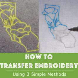 How to Transfer Embroidery
