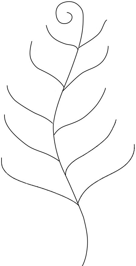 Fern Tutorial Free Pattern