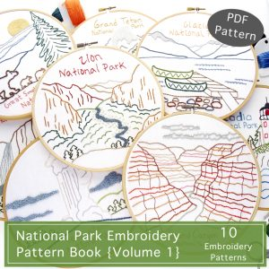 National Park Pattern Book {Volume 1}