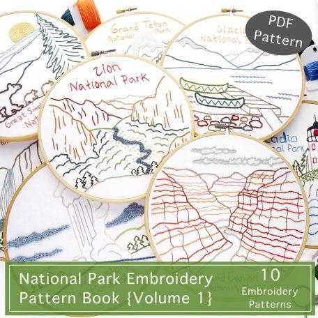 National Park Pattern Book {Volume 1}