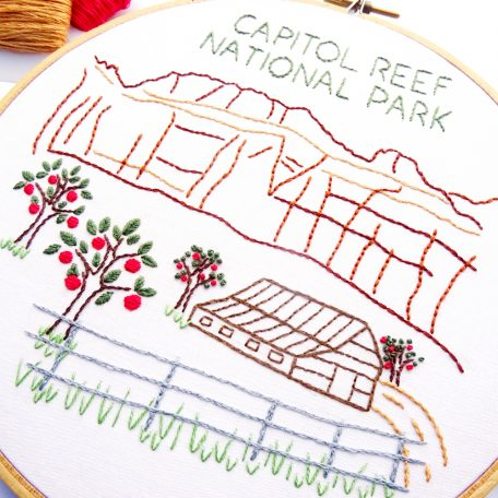 capitol-reef-national-park-embroidery-pattern