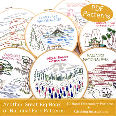 Another National Park Hand Embroidery Patterns ebook