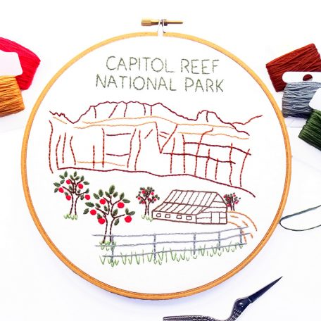 capitol-reef-national-park-hand-embroidery-pattern