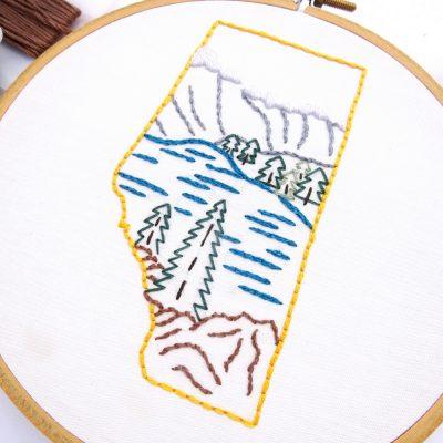 Alberta Hand Embroidery Pattern