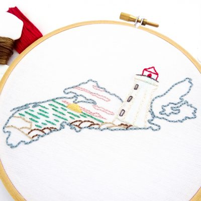 Nova Scotia Hand Embroidery Pattern