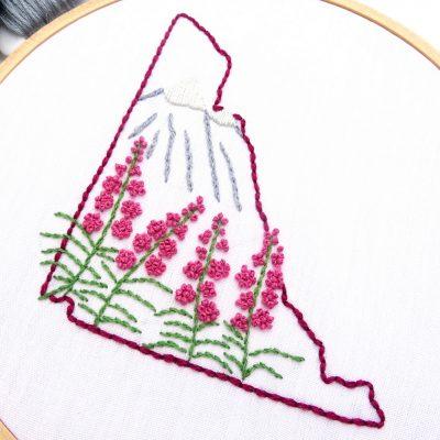 Yukon Hand Embroidery Pattern