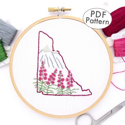 Yukon Hand Embroidery Pattern