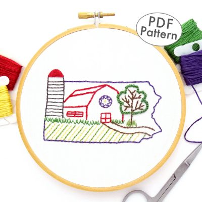 Pennsylvania Hand Embroidery Pattern