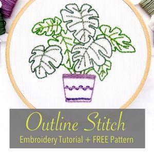 Outline Stitch Tutorial