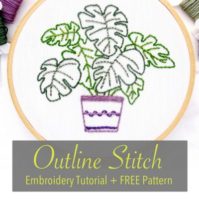 Outline Stitch Tutorial