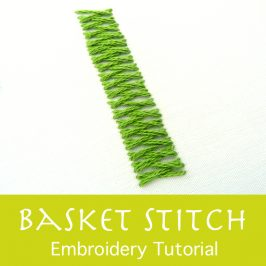 Basket Stitch Tutorial