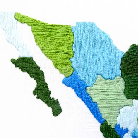 mexico-travel-map-hand-embroidery-pattern
