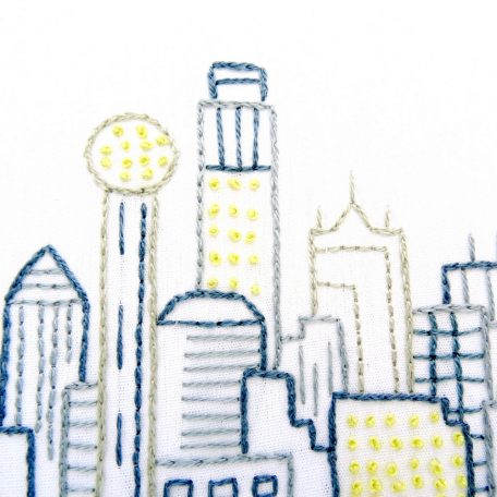 dallas-skyline-hand-embroidery-pattern