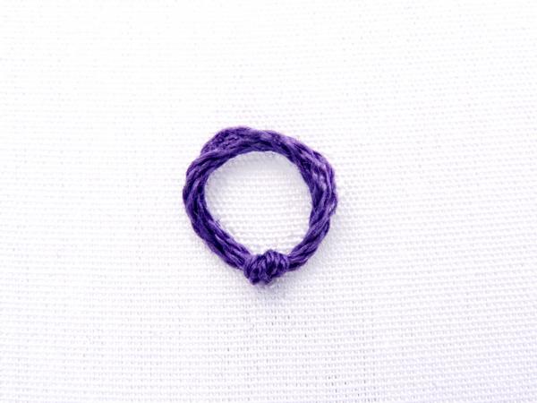 Peking Knot Stitch Tutorial