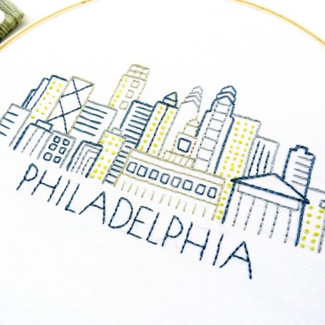 philadelphia-skyline-hand-embroidery-pattern